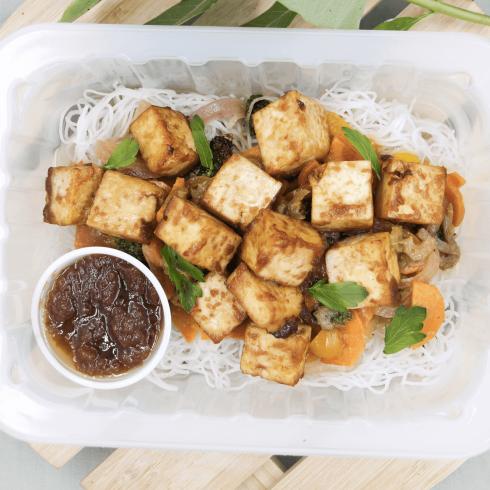 Sauté asiatique au tofu