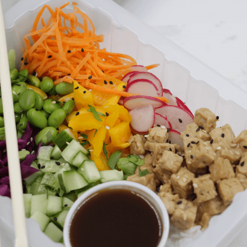 Bouddha bol au tofu