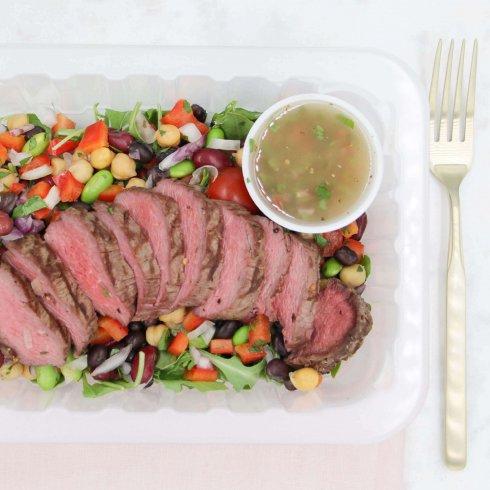 Salade mexicaine de boeuf