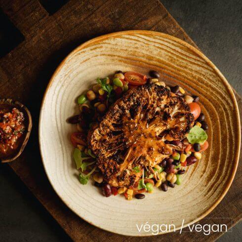 Steak de chou-fleur chimichurri