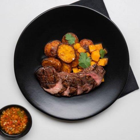 Chimichurri beef
