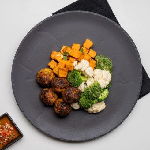 Tempeh & shiitake Meatballs
