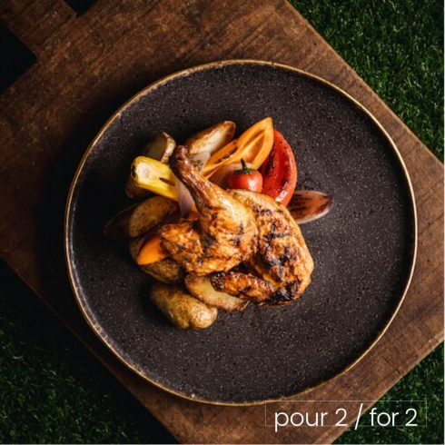 Poulet de Cornouailles piri-piri grillé
